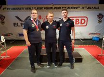 Dan Turuș, sportiv legitimat la CS Unirea Alba Iulia, medalie de bronz la Cupa Mondială Universitară de Powerlifting
