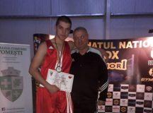 Sportiv legitimat la CS Unirea Alba Iulia, medalie de argint la Campionatul Național de Box, la categoria semigrea