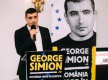 Liderul mișcării unioniste, George Simion, și-a lansat candidatura la alegerile europarlamentare în cetatea Unirii
