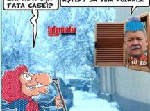 PAMFLETUL ZILEI:A nins abundent, dar Polaris se face ca ploua!
