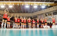 emifinala Cupei CEV la volei feminin: Știința Bacău –  Volei Alba Blaj 0 – 3, și au făcut un pas spre marea finală