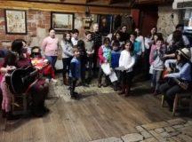 """Balul prieteniei  la Centrul de zi pentru copii """"Sfânta Cuvioasă Parascheva"""" din Alba Iulia"""