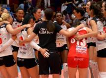 Galatasaray Istanbul – Volei Alba Blaj, sferturile de finală!