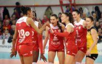 Înfrângere pentru Volei Alba Blaj la Istanbul : 3 – 0