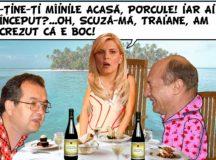 Pe cand Basescu era rege!
