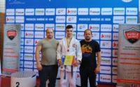 Judoka legitimat la CS Unirea Alba Iulia, locul 3 la Campionatul Național Individual U16