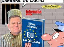 Urat, foarte urat:Iohannis isi lanseaza cartea cu invective la adresa PSD -ALDE
