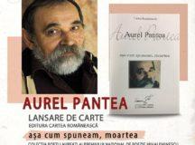 Aurel Pantea și Alexandru Cistelecan prezenți la Târgul de Carte Alba Transilvana, ediția a XII-a, 6-8 iunie 2019