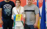 Bogdan Laura Alesia, judoka legitimată la CS Unirea Alba Iulia, locul 2 în Finala Campionatului Național U15