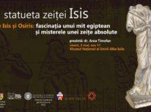Vineri puteti vedea statueta zeitei Isis de la Apulum!