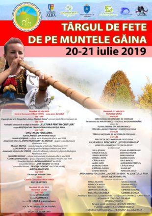 Târgul de Fete de pe Muntele Găina – mii de oameni așteptați la cea mai mare și mai cunoscută sărbătoare populară din România
