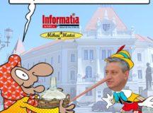Si PRO Romania Alba si-a dat seama ca Pinochio Dirzu minte ca un mincinos!