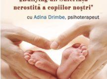 """BebeBiblioteca, atelier de parenting la Biblioteca Județeană ,,Lucian Blaga"""" Alba"""