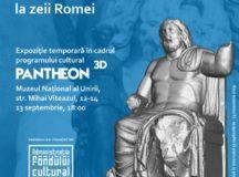 Expoziția temporară OLYMPOS 3D. DE LA ZEII OLIMPULUI LA ZEII ROMEI