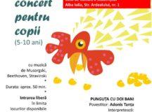 """Concert pentru copii: """"Punguţa cu doi bani"""""""