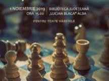 """Șah – Mat! la Biblioteca Județeană """"Lucian Blaga"""" Alba"""