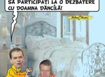 Iohannis se teme de o dezbatere?