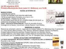 Eveniment cultural de marca:Zilele Culturale Liviu Rebreanu la Aiud, ediția a XXIX-a