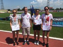 Secția de atletism a CS Unirea Alba Iulia încheie victorios sezonul! Două medalii de aur și una de argint la Campionatul Național de marș