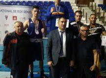 Două medalii, de argint și bronz, la Campionatul Național de Box, Seniori