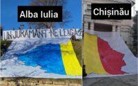 Unioniștii au rupt harta României Mari în două