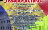 """""""Tezaur Folcloric"""": Centrul de Cultură """"Augustin Bena"""" Alba organizează, la Blaj, un concert extraordinar de folclor"""