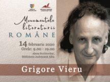 85 de ani de la nașterea scriitorului Grigore Vieru