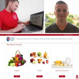 APROZARUL VIRTUAL: Primăria Ciugud lansează oficial prima platformă virtuală de promovare a producătorilor locali din Alba
