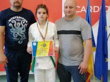 Sportivă a CS Unirea Alba Iulia, mare speranță a judo-ului românesc. La doar 14 ani – medalie la campionat național de seniori