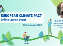 Directorul Agenției Locale a Energiei Alba – ALEA, dl. Florin Andronescu, a participat la evenimentul de lansare a Pactului European pentru Climă