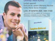 """Sfârșit de martie cu lansare de carte la Biblioteca Județeană """"Lucian Blaga"""" Alba"""