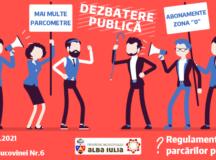 Regulamentul de organizare și funcționare a parcărilor va fi stabilit împreună cu cetățenii municipiului