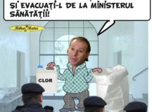 VLAD VOICULESCU EVACUAT DIN MINISTERUL SANATATII!!!