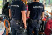 Jandarmii din cadrul Inspectoratului de Jandarmi Judeţean ''Avram Iancu ''Alba, la datorie și în acest weekend.
