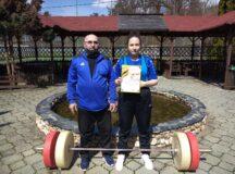 CS Unirea Alba Iulia continuă seria rezultatelor bune: Junioară legitimată la secția de haltere, locul 2 la Cupa României