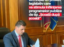 """Beniamin Todosiu, deputat USR PLUS: Am depus în Parlament un proiect legislativ care va stimula înființarea programelor publice de tip ,,Școală după școală"""""""