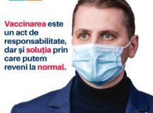 Deputatul USR PLUS de Alba, Beniamin Todosiu, lansează o campanie de informare privind importanța vaccinării