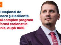 Beniamin Todosiu, deputat USR PLUS: Planul Național de Redresare și Reziliență va da radiografia viitoare a României