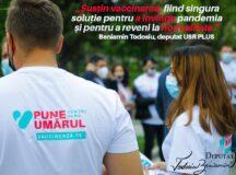 Beniamin Todosiu sustine Campania de vaccinare