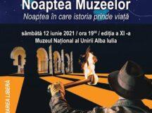 Noaptea Muzeelor. Noaptea în care istoria prinde viață