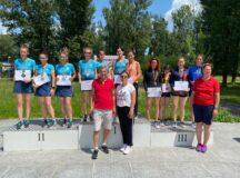 CS Unirea Alba Iulia a dominat categoric Campionatul Național de Marș: Aur și argint pentru Ana Rodean și Mihaela Acatrinei