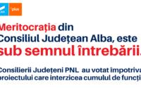 Meritocrația din Consiliul Județean Alba, sub semnul întrebării. (P)