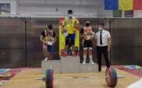 Vîlcu Nicu, sportiv legitimat la CS Unirea Alba Iulia, a obținut trei medalii de aur la Campionatul Național de Haltere juniori II