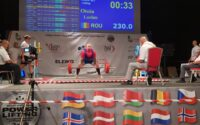 Lucian Oțoiu, sportiv legitimat la CS Unirea Alba Iulia, vicecampion european la powerlifting