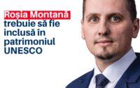 Beniamin Todosiu, deputat USR PLUS: Roșia Montană trebuie să fie inclusă în patrimoniul UNESCO !