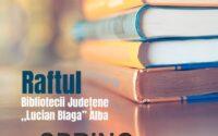 """În luna septembrie Raftul Bibliotecii Județene """"Lucian Blaga"""" Alba poposește la Șpring"""