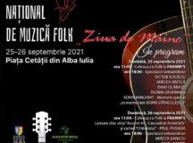 """Festivalul Național de Muzică Folk """"Ziua de Mâine"""" – Alba Iulia redevine capitala muzicii folk"""