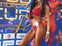 Mihaela Mih-Dehelean, sportivă legitimată la CS Unirea Alba Iulia, medalie de bronz la Campionatele Naţionale de Culturism şi Fitness